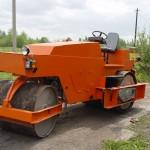 дорожный каток МС-47 - техника для ямочного ремонта