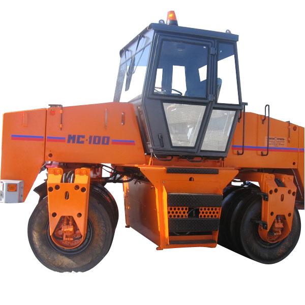 дорожный каток МС-100 тандемный пневмошинный
