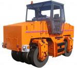 дорожный каток МС-100 пневмошинный
