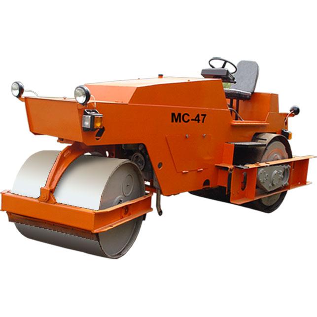 Двухвальцовый вибрационный дорожный каток МС-47